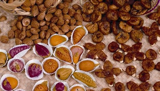 Dulces e higos de Algarve