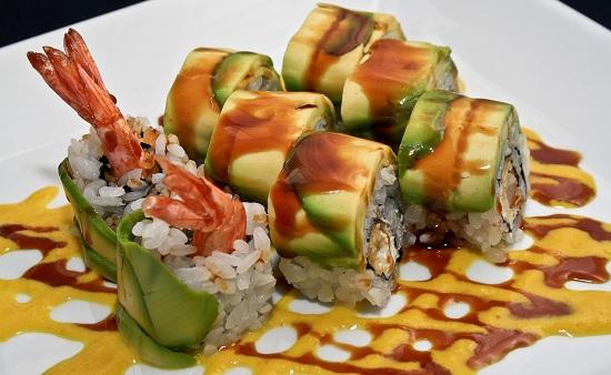 Originales sushis en Ikura
