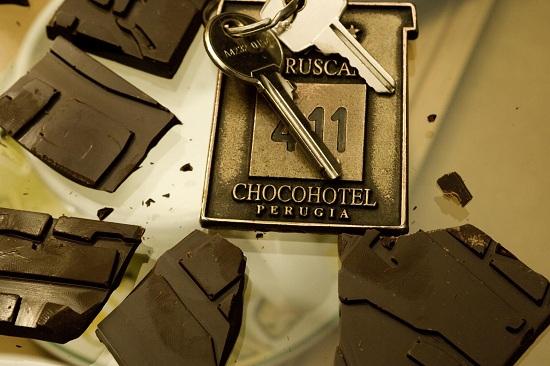 Un hotel de chocolate
