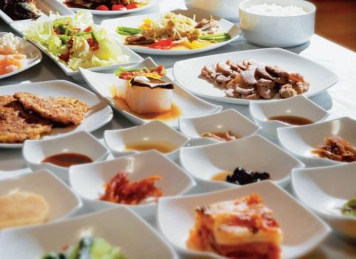 Bocados de cocina coreana