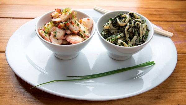 Santo, platos frescos y primaverales