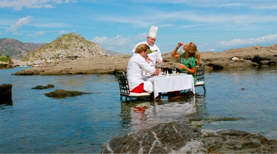 Experiencias gourmet entre cielo y mar