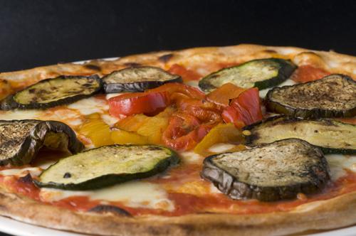 Pizza Vegetal. Kasanova / Foto: Jose Ramón Aguirre