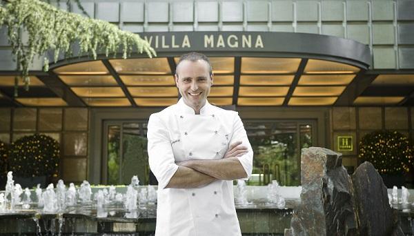 Rodrigo de la Calle, chef ejecutivo del hotel Villa Magna