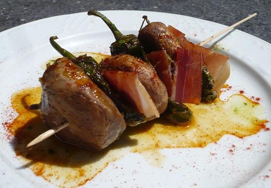 Ruta 'tapasauria' con sabor a jamón de Teruel
