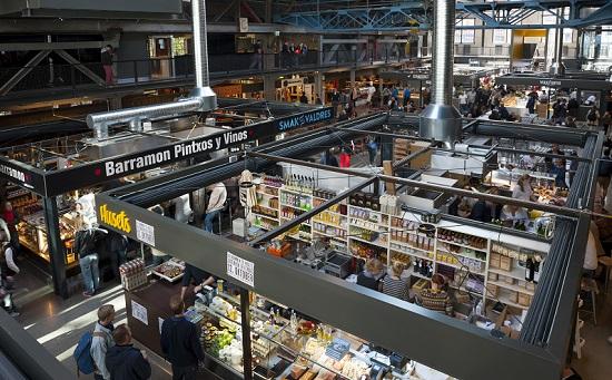 Mathallen, el mercado gourmet de Oslo