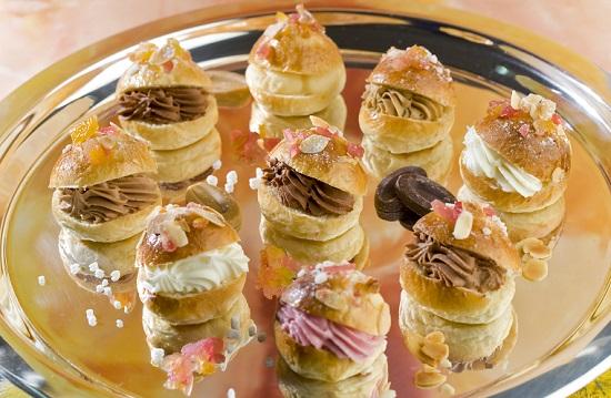 Roscones de Reyes en miniatura