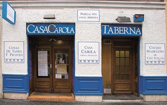 Casa Carola, cocido y solo cocido