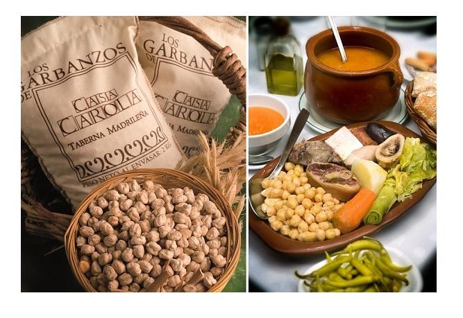 Garbanzos y cocido de Casa Carola, Madrid