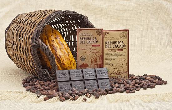 Ruta del cacao de Ecuador
