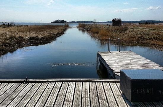 Almuerzo junto al mar en Estonia