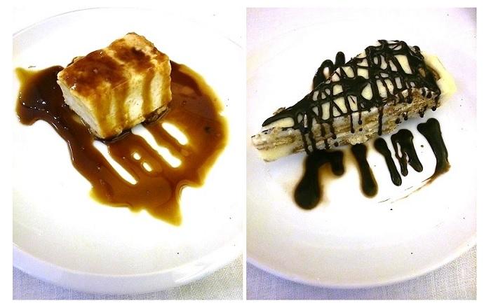 Tarta de queso y Tarta de galleta. Canela Fina