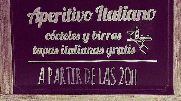 Via Birra, tapas italianas gratis