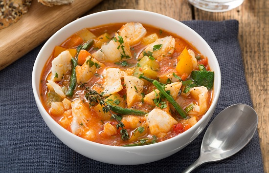Bacalao Noruego Tradicional en sopa de tomate