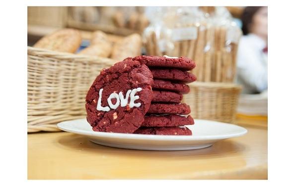 Cookies Red Velvet. SAn Valentín Levadura Madre