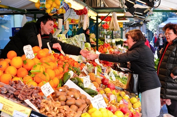 Visita al mercado de Bolzano (c) Oficina de Turismo de Bolzano