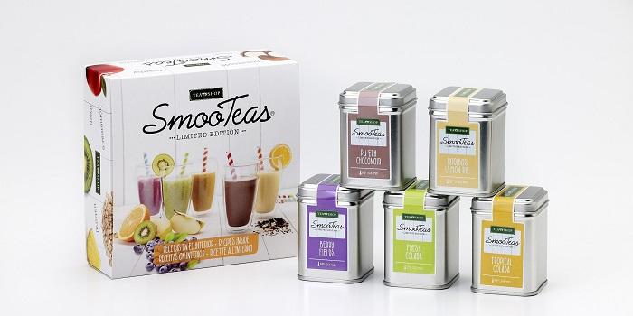 Edición limitada de smooteas de Tea Shop