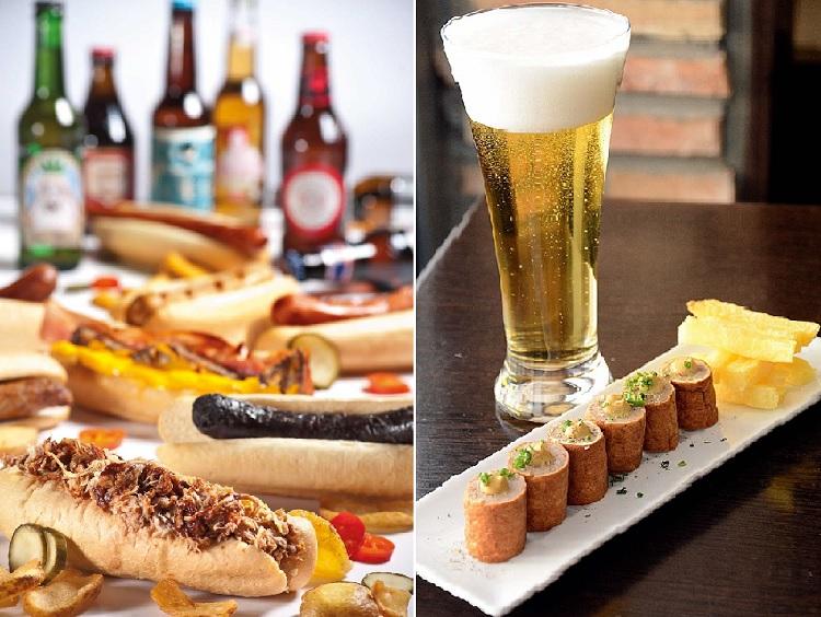 II Beer Street Food Festival de Moraleja Green y aperitivo típico en el Atelier Belga