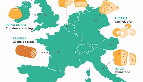 7 dulces navideños tradicionales en Europa
