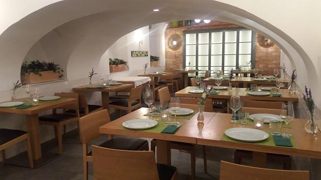 Salón del restaurante La Cava del Meninas