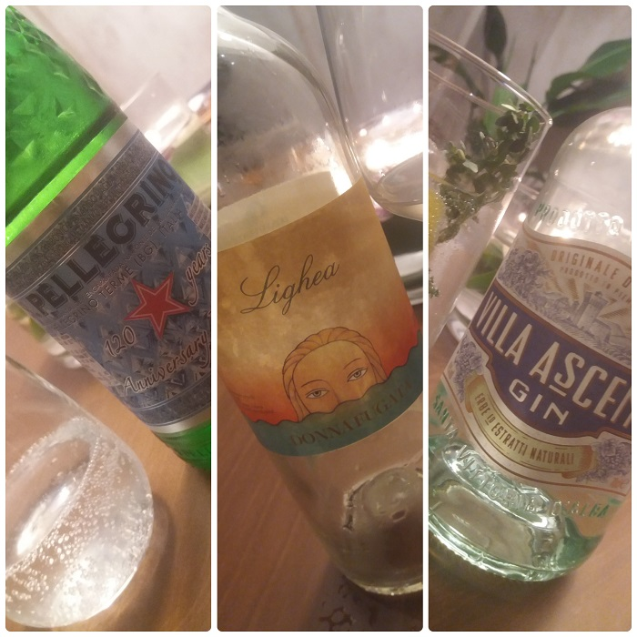 Bebidas en Pante Madrid