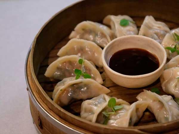 Dumplings de kale